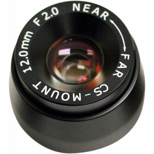 "Marshall Electronics V-4412.0-2.0-HR 1/3"" M12 Mount 12mm f/2.0 Hi-Res Miniature Lens"