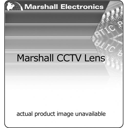 Marshall Electronics V-48612MZA 6-12mm f/1.4 Standard CCTV Lens