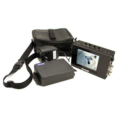 "Marshall Electronics V-LCD4PROL 4"" Camera Mountable LCD Monitor Kit"