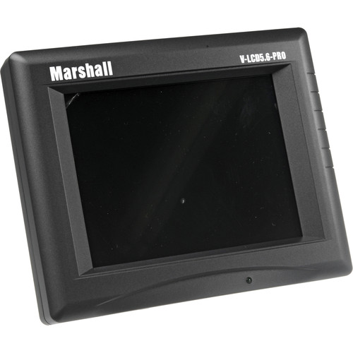 "Marshall Electronics V-LCD5.6PRO 5.6"" Camera Mountable LCD Monitor with Power Supply"