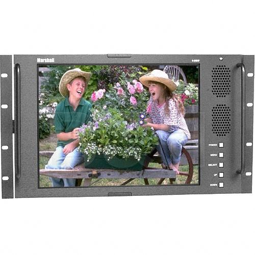 """Marshall Electronics V-R151P 15"""" Rack Mountable LCD Monitor"""