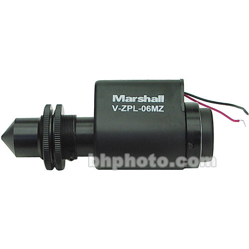 Marshall Electronics V-ZPL06MZ 4mm to 20mm f/2.5 Motorized Pinhole Lens