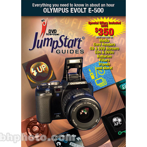 MasterWorks DVD: Jumpstart Training Guide for the Olympus E500 Digital SLR Camera