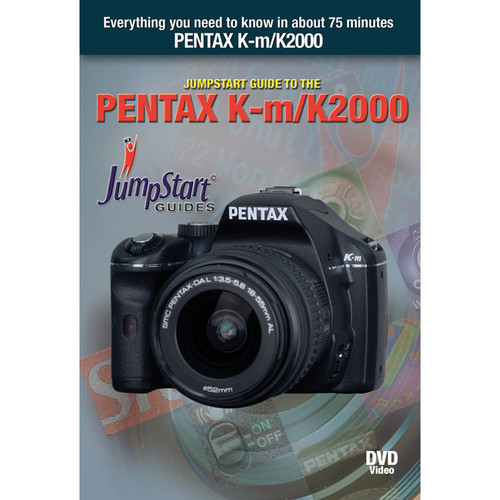 MasterWorks DVD: Jumpstart Training Guide for the Pentax KM K2000 Digital SLR Camera