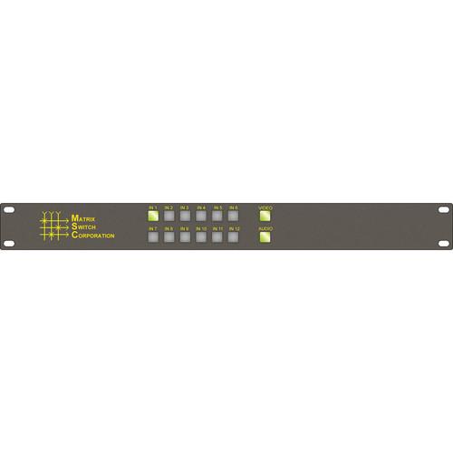 Matrix Switch 12 x 1 HD-SDI/SDI Video Routing Switcher