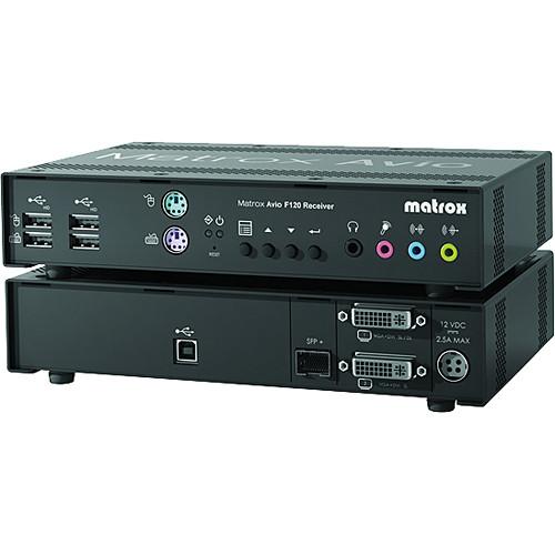 Matrox AV-F120RXF Avio F120 Receiver Unit with Multimode Transceivers