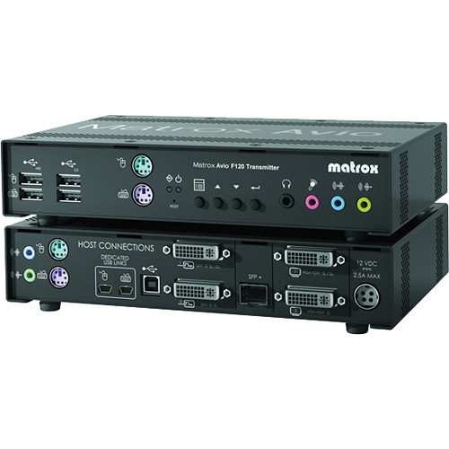 Matrox AV-F120TXF Avio F120 Transmitter Unit with Multimode Transceivers