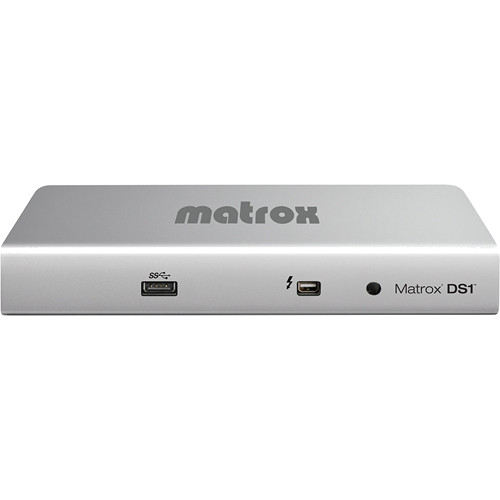 Matrox DS1/HDMI Thunderbolt Docking Station for MacBook Pro and MacBook Air