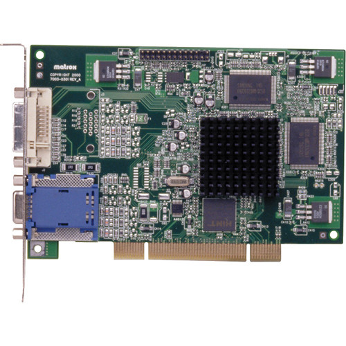 Matrox G450 PCI/PCI-X 4 x32-Bit Dual Monitor Graphics Card