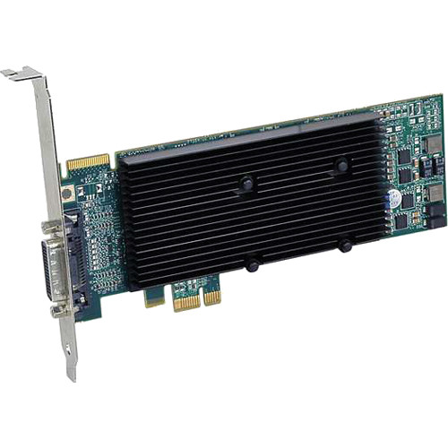 Matrox M9120 512MB PCI Express x1 Low-Profile Graphics Card