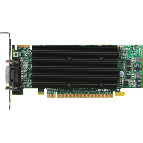 Matrox M9120 512MB PCI Express x16 Low-Profile Graphics Card