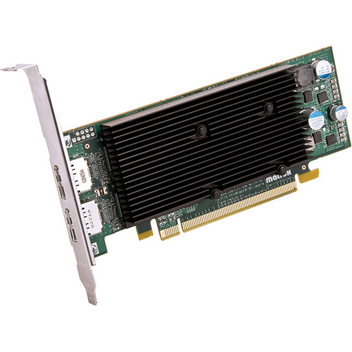 Matrox M9128 Low-Profile PCIe x16 Graphic Display Card