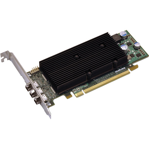 Matrox M9138 Low-Profile PCIe x16 Graphic Display Card