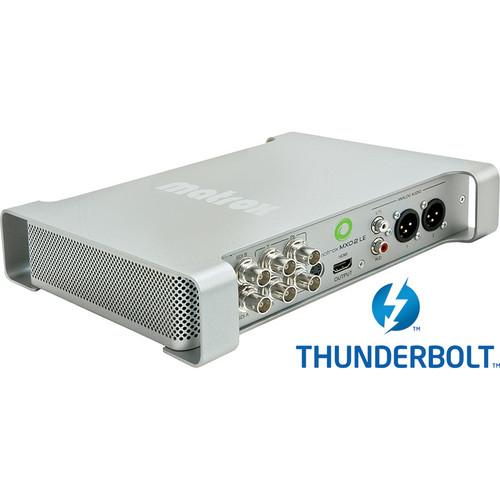 Matrox MXO2 LE with MAX (Thunderbolt)