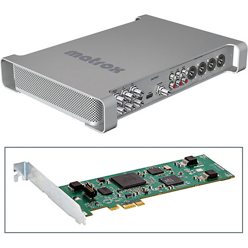Matrox MXO2 External Video I/O w/Compress-HD