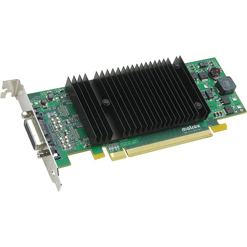 Matrox P69/690 Plus Low Profile PCIe x 16 Dual Head 128 MB DDR2 Graphics Card