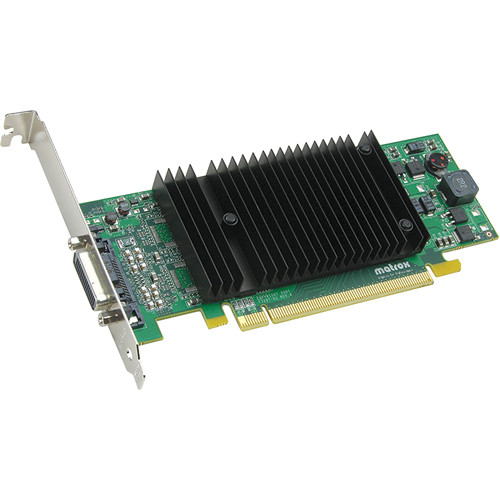 Matrox P69/690 Plus Low-Profile PCIe x16 256 MB Graphics Card