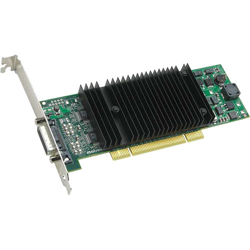 Matrox P69/690 Plus Low-Profile PCI x16 256 MB Graphics Card