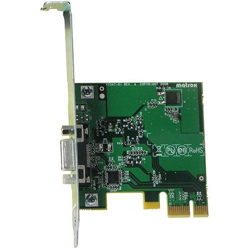 Matrox MXO2 PCIe Host Adapter
