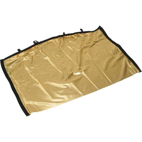 "Matthews RoadRags II Reflector, Gold Lame - 24x36"""