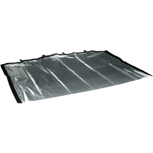 Matthews RoadRags II Reflector, Silver Lame - 24x36""