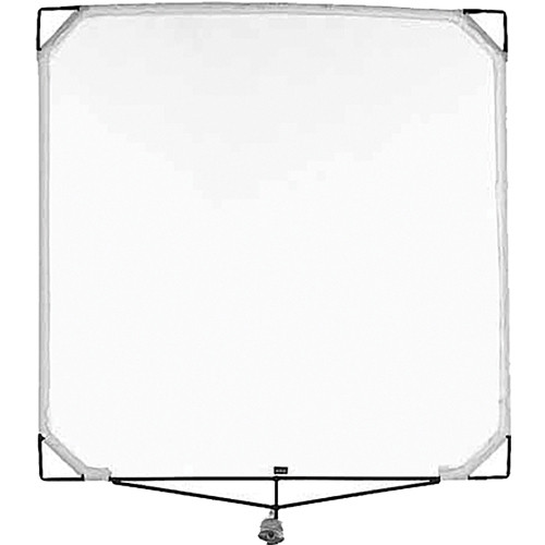 "Matthews Solid Frame Scrim - 48x48"" - White Single"