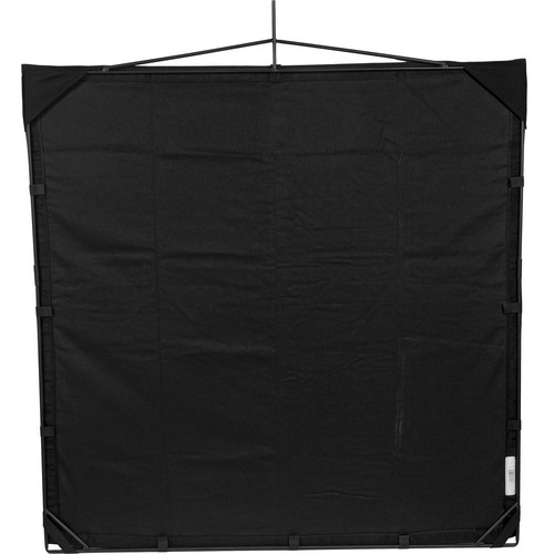 Matthews RoadFlag Fabric, Solid  Black - 48x48""