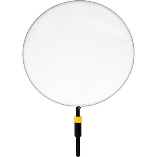 "Matthews Dot - 3"" - White Artificial Silk"