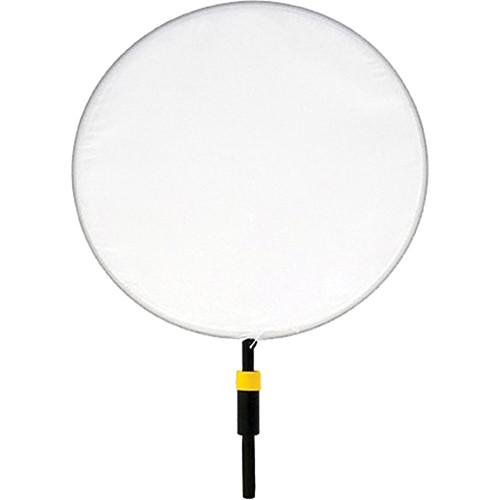 "Matthews Dot - 10"" - White Artificial Silk"