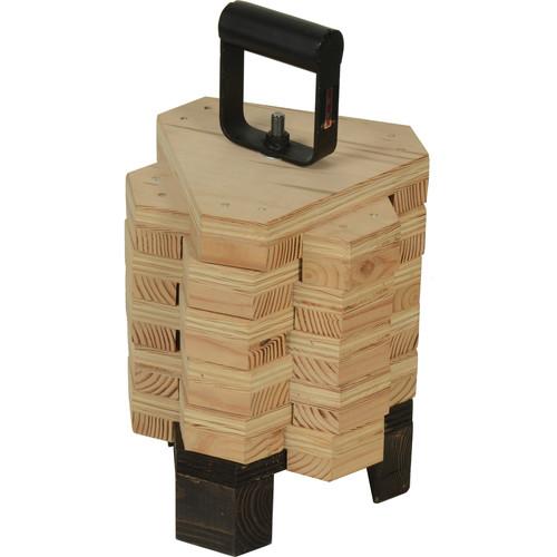 "Matthews Set of 10 Elephant Blocks (2"") with Handle"