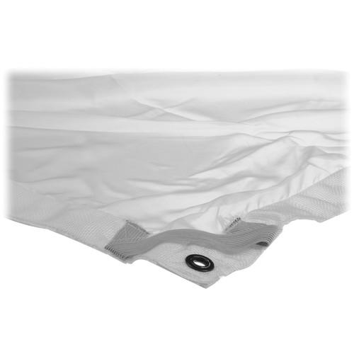 Matthews 6x6' Overhead Fabric - White 1/4 Stop Silk