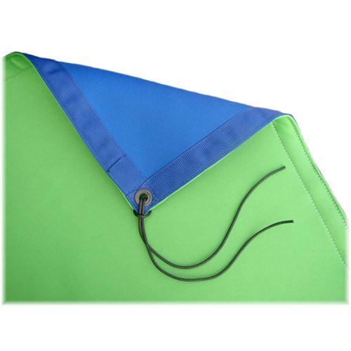 Matthews Reversible Blue/Green MATT Screen for Chroma Key  - 8 x 8'