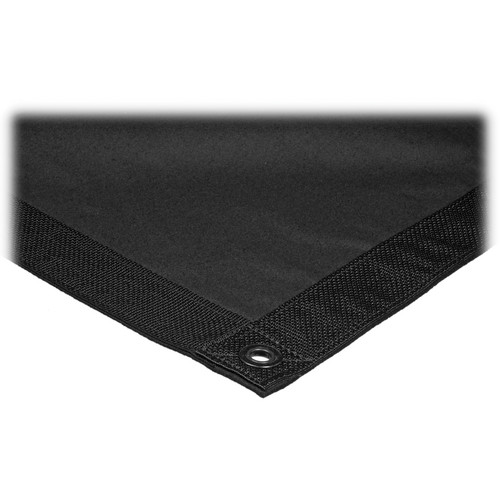 Matthews 8x8' Overhead Fabric - Solid Black