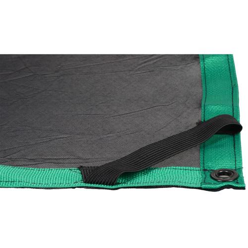 Matthews Butterfly/Overhead Fabric - 20x20' - Black Double Scrim
