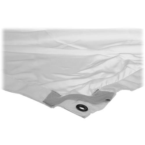 Matthews 12x12' Overhead Fabric - White 1/4 Stop Silk