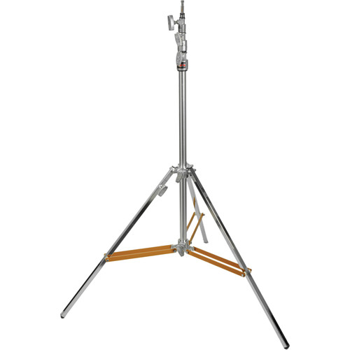 Matthews Hollywood Beefy Baby Triple Riser Stand with Rocky Mountain Leg (Silver, 12.3')