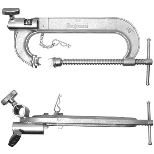 Matthews C - Clamp, Double Jr Receiver - 8""