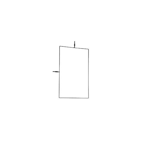 "Matthews Flag Frame - 30x36"""