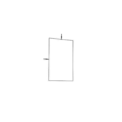 "Matthews 30x36"" Flag Frame"