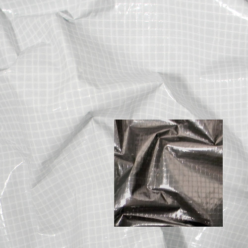 Matthews Butterfly/Overhead Fabric - 6x6' - Black/White T55 Griff