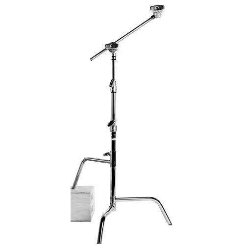Matthews Hollywood Century C Stand with Arm & Grip Head - 5.25' (1.6m)