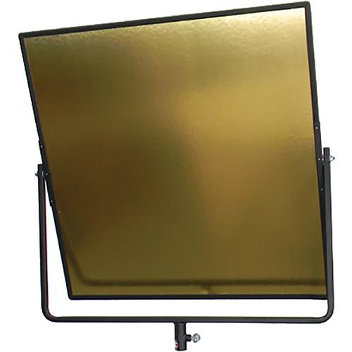 """Matthews Aluminum Hand Reflector - 24x24"""" - Gold"""