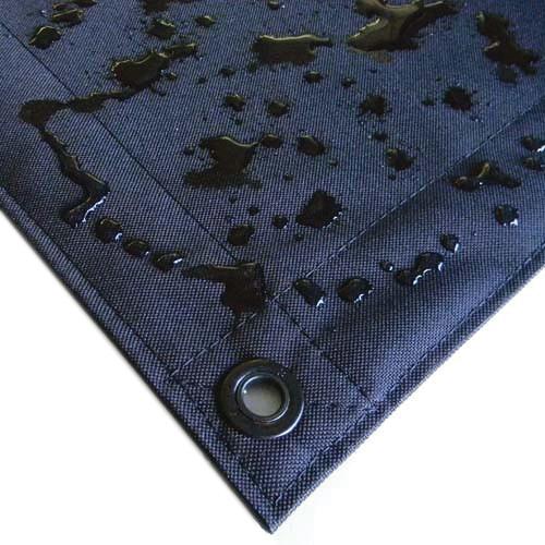 Matthews 20x20' Overhead Fabric - Black Artificial Silk