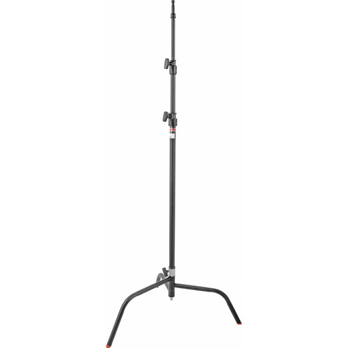 Matthews Century C+ Stand with Removable Turtle Base, Black - 10.5' (3.2m)