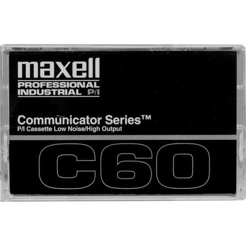 Maxell Communicator Series Normal Bias 60 Minute w/ Case and Labels