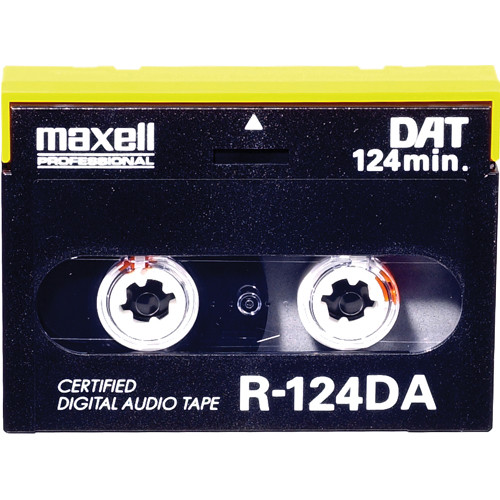 Maxell R-125DA 125 Minute Digital Audio Tape