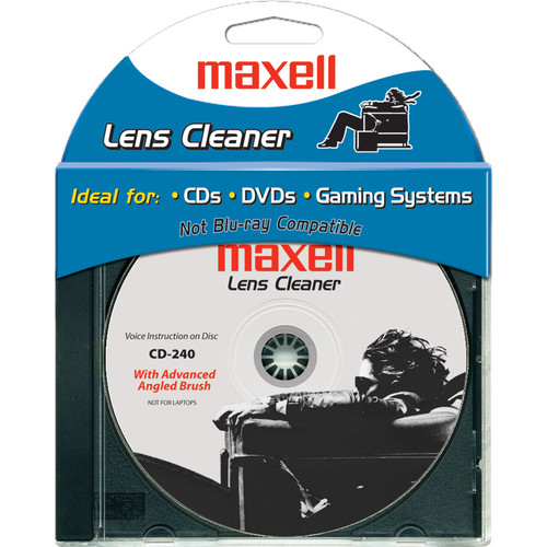 Maxell CD-240 Lens Cleaner