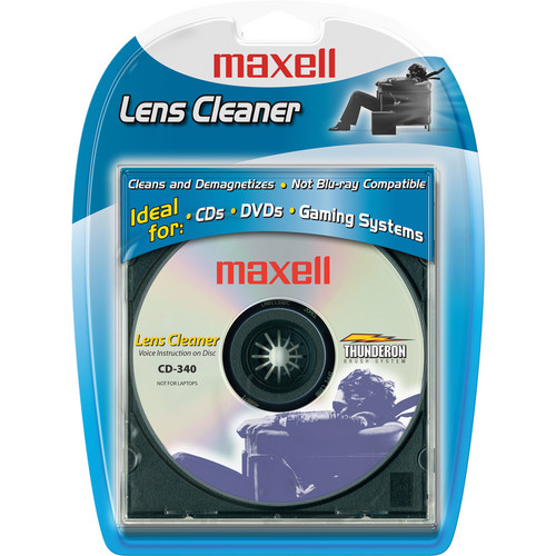 Maxell CD-340 Lens Cleaner