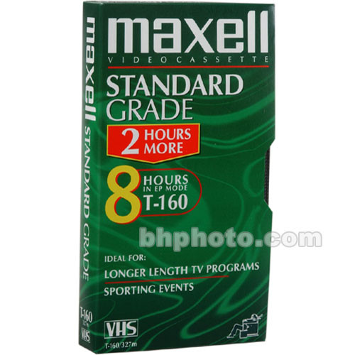 Maxell STD-160 VHS Video Cassette