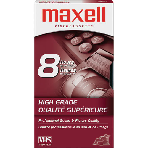 Maxell HG-T160 VHS Video Cassette